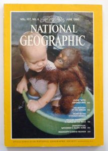 National Geographic cover 1980