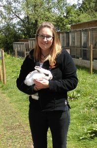 Kathryn Paterson of Fat Fluffs Rescue Center