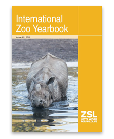 Intl Zoo Yearbook - scientific publications
