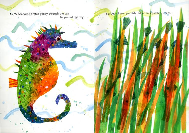Mister Seahorse by Eric Carle - Nannette Driver-Ruiz