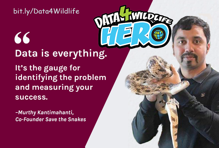Protecting One Of Nature's Most Notorious Reptiles With #Data4Wildlife