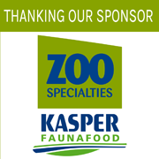 Thanking our sponsor Kasper Fauna Food for their support.