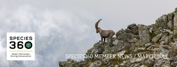 Species360 Member News / March 2019